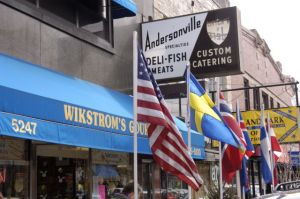 Swedish deli in Andersonville neighborhood in Chicago