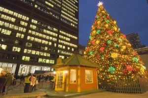Christkindlmarket -- Christmas market in Daley Plaza