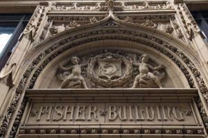 Historic Fisher Building on South Dearborn, 1896