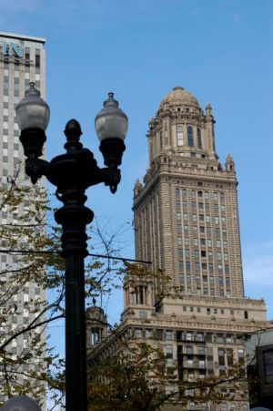 Originally known as the Jewelers Building, now 35 East Wacker Drive
