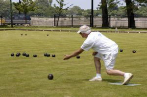 Lawn Bowling in Hyde Park neighborhood in Chicago