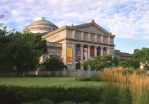 Museum of Science and Industry in Chicago's Hyde Park neighborhood  - Chicago photography