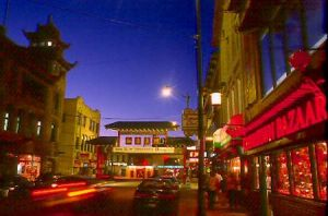 Chinatown in Chicago at dusk - Chicago photographs