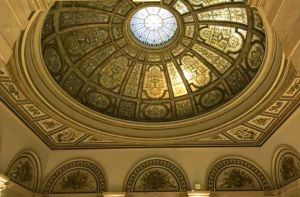 Cultural Center Tiffany dome - Chicago architecture photography