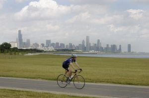 Lake and Skyline on the southside - Chicago lakefront photographs