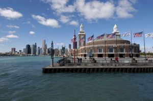 Navy Pier and skyline - Chicago lakefront photography