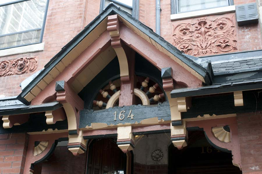 Victorian era building on Eugenie Street in Old Town