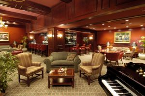 Bar Lounge in St Louis Sheraton Hotel - Chicago architectural photography