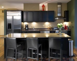 Chicago condo in River North, kitchen - Chicago architecture photographer