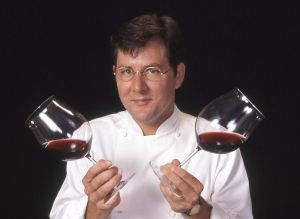 World famous chef Charlie Trotter in 1998 for Wine Spectator