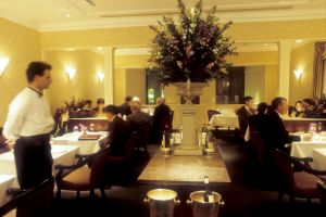The dining room in 1992