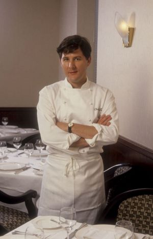 Young chef Charlie Trotter in 1992