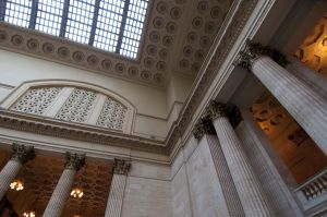 Great Hall in Chicago's Union Station