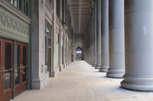 Columns outside Chicago's Union Station