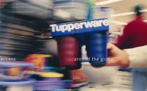 Tupperware annual report- Cover