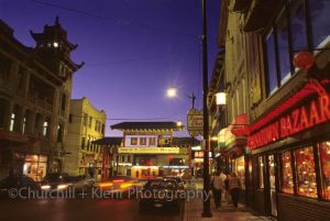 Chinatown - Chicago night photography