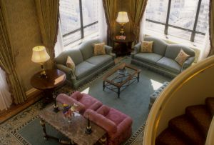 Ritz Carlton Hotel Presidential Suite -- Chicago architecture photographer
