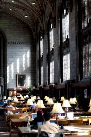 Harper Library at Univ of Chicago