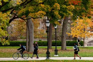 University of Chicago in autumn