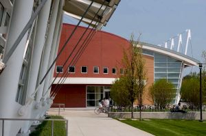 Ratner Athletic Center designed by Cesar Pelli