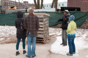 Daily tours at Iron Street Farm, Chicago urban farm