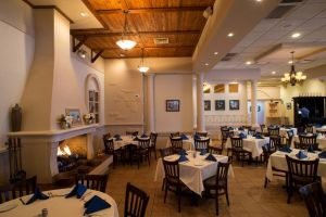 Athena restaurant main dining room