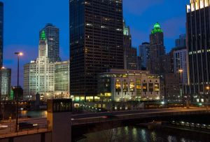 Hotel InterContinental and Wrigley Building