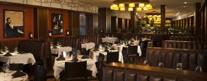 Cameron's Steakhouse, dining room