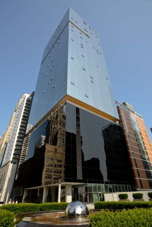 Optima Chicago Center architecture photo