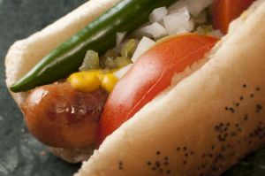 Traditional Chicago Hot Dog