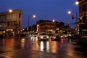 Six Corners--the heart of Wicker Park