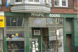 Great used bookstore, Myopic Books