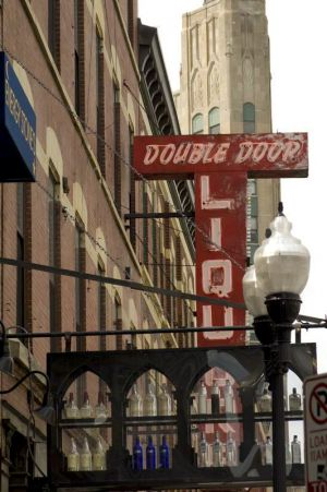 Double Door--double whammy--liquor and live music