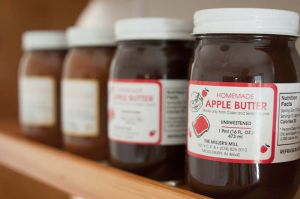Homemade Amish apple butter