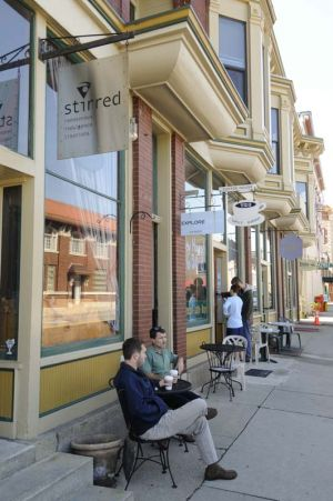 Slow pace of life in Elkhart